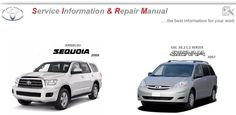 TOYOTA SEQUOIA 2008 & SIENNA 2007 WORKSHOP MANUAL