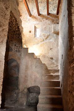 Pompeii staircase