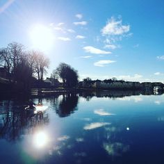 The River Shannon at Carrick on Shannon Co. Leitrim Ireland.