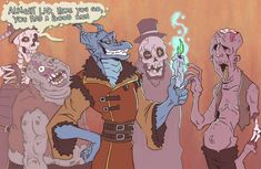 Critical Role Fan Art Gallery – Spellcraft and Artistic Wizardry | Geek and Sundry