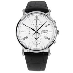 Chronograph-Divers.com - Seiko Chronograph PREMIER Alarm Male Leather Strap Watch SNAF77P1, $239.00 (https://www.chronograph-divers.com/seiko-chronograph-premier-alarm-male-leather-strap-watch-snaf77p1/) Sale! Up to 75% OFF! Shot at Stylizio for women's and men's designer handbags, luxury sunglasses, watches, jewelry, purses, wallets, clothes, underwear