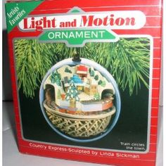 Light and motion ornament.  I would love any Hallmark Motion or Hallmark Magic ornaments!