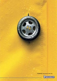 The Print Ad titled RAIN was done by DDB Toronto advertising agency for brand: Michelin in Canada. It was released in the Apr Ads Creative, Creative Artwork, Creative Posters, Creative Advertising, Advertising Design, Advert Design, Advertising Poster, Advertising Campaign, Marketing And Advertising