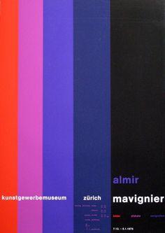 Poster by Almir Mavignier,1975