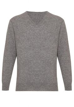 ouxiuli Mens V-Neck Solid Leisure Slim Lightweight Knitting Pullover Sweaters
