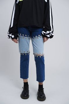 Inspiration for denim upcycle project