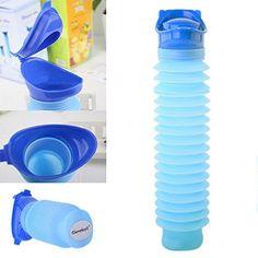Portable Travel Male Female Reusable Camping Car Pee Urinal Urine Toilet Kit