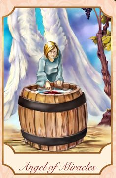 Angel Love Tarot ~ The Angel of Miracles