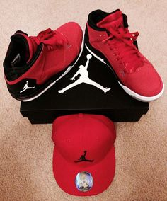 Jordan Flight Shoe and Jordan Air Hat!
