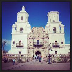 Casa de Violette : San Xavier Mission outside Tucson, AZ