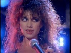 "The Bangles' Susanna Hoffs. Their hit ""Walk Like An Egyptian"" was a defining song of the '80s sound."