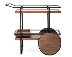 James Bar Cart by Yabu Pushelberg for Stellar Works