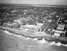 Vista aérea Santo Domingo años 40