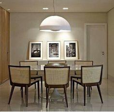 Sala de jantar - Linda e iluminada