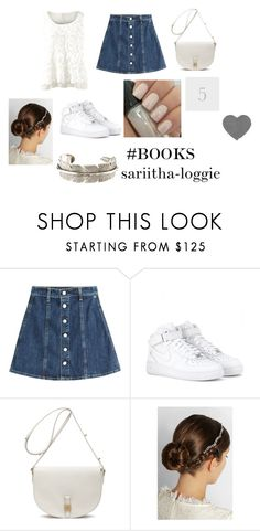 """""""The Count of Monte Cristo #5 ♥"""" by miau-892 ❤ liked on Polyvore featuring CAbi, AG Adriano Goldschmied, NIKE, Mulberry, Jennifer Behr, Yves Saint Laurent, outfits, books, AlejandroDumas and TheCountOfMonteCristo"""