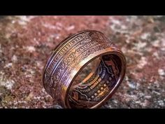 Make Double Sided Rings out of Coins - Tips for Beginners - YouTube