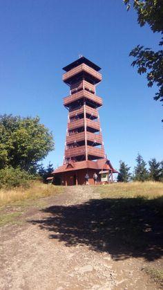 Rozhledna Velký Javorník Czech Republic, Tower, Travel, Rook, Viajes, Computer Case, Destinations, Traveling, Trips