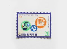 Korean stamp design