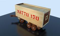 Matto TRAILER - wooden toy render