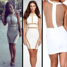 cb15fc4303 HOT summer 2015 sexy dress club wear voile casual white bodycon lace  dresses New tropical women mesh bandage backless dress(China (Mainland))