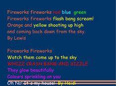 New fireworks poem | Fireworks poetry | Pinterest | Dikt