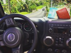Of course we don't take pictures while driving. This was worth pulling over:) Slim Leather Wallet, Slim Wallet, Island Life, Italian Leather, Jeep, Hawaii, Pictures, Handmade, Photos