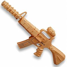 3-D Wooden Puzzle - Carbine 15 Model -Affordable Gift for your Little One! Item #DCHI-WPZ-P109