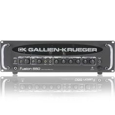 GALLIEN KRUEGER FUSION 550, 500WATT BASS AMP | Bass Centre