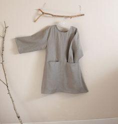 90a50e6f71 custom linen dress with hidden pockets