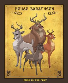 house baratheon by Mariana Moreno