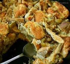 Amish Roast Turkey (or Chicken) and Dressing! Easy, economical, and a keeper for life!