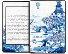 【お取り寄せ】Kindle Paperwhite ケース・カバーよりデザイン豊富!【GELASKINS】Kindle Paperwhite/キンドル ペーパーホワイト  スキンシール【Blue Willow】【YDKG-td】高品質3M製シール使用で剥がしてもベタつかない!【RCP1209mara】【楽天市場】