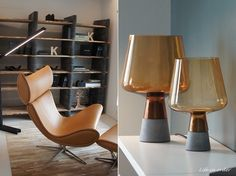 iittala Leimu Lamp - love that chair.