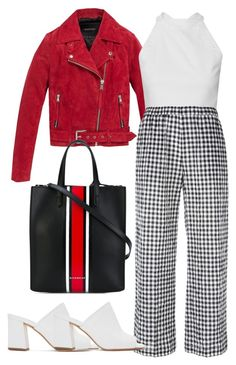 """""""basics"""" by francymayoli ❤ liked on Polyvore featuring Andrew Marc, Aspesi, Maryam Nassir Zadeh and Givenchy"""