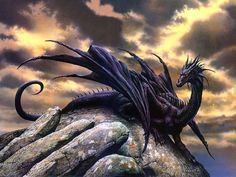 Dragon    Another painting by my favorite dragon artist :) Will have to look up his name later XP