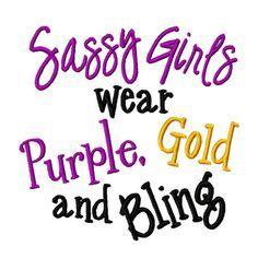 Sassy LSU girls! !
