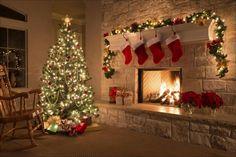 father christmas lights