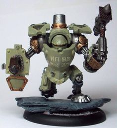 Searforge (Rhulic) Wroughthammer Rockram Heavy Warjack for warmachine