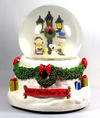 pictures of vintage snow globes - Google Search