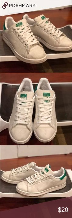 Adidas Stan Smith Stan smiths | not sure if these are the real deal I bought them from the thrift shop | size 7.5 adidas Shoes Sneakers