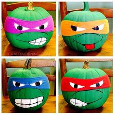 Ninja Halloween Pumpkins