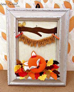 Handmade home decor www.coloripreziosi.blogspot.it #handmadeautumn #thecreativefactory #coloripreziosi #feltroepannolenci