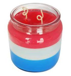Fourth of July Triple Layer Candle Recipe is a free craft idea by Natures Garden Candle Making Supplies. A patriotic red white and blue candle recipe.