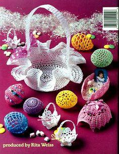 Thread Crochet Easter Eggs Вязаные пасхальные яйца (англ) - 110485152107956042649 - Picasa Web Albums