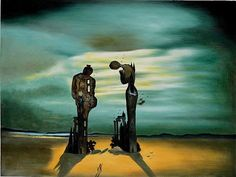 Artwork by Salvador Dali | Home > Paintings > salvador dali > archaeological reminiscence of ...