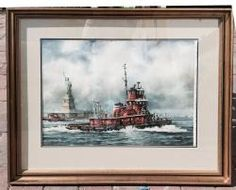 THE BRIAN A. MCALLISTER OF LIBERTY ISLAND, W/C June 20th Estate Auction | Kaminski Auctions