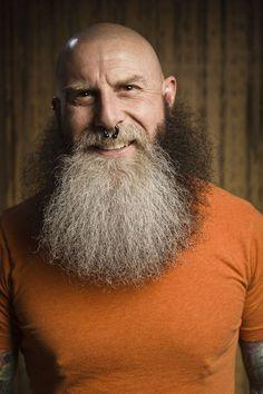 Battle of the Beards by Josh Meister, via Behance Great Beards, Awesome Beards, Beard King, Beard Model, Epic Beard, Hottest Models, Bearded Men, Envy, Einstein