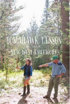 Tomahawk Lesson with New West Knifeworks