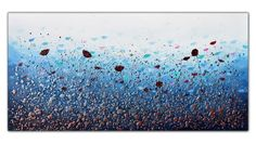 Buy Ocean Floral Burst, Acrylic painting by Amanda Dagg on Artfinder. Discover thousands of other original paintings, prints, sculptures and photography from independent artists. Sale Artwork, Original Paintings, Paintings For Sale, Artfinder, Lovers Art, Artwork, Texture Painting, Original Artwork, Acrylic Painting Canvas