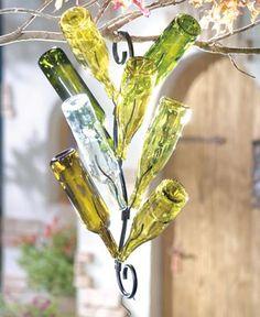 Hanging Bottle Tree